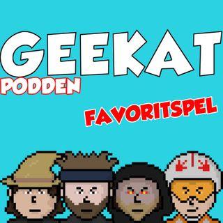 Geekatpodden Avsnitt 1 - Favoritspel