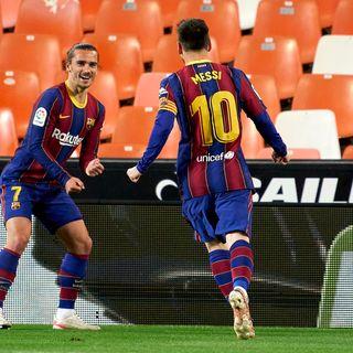 Dramática victoria del Barcelona frente al valencia