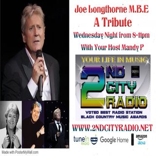 Joe Longthorne a Tribute with Mandy P Live