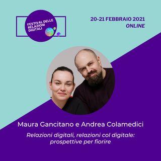 Relazioni digitali, relazioni col digitale: prospettive per fiorire   Maura Gancitano e Andrea Colamedici - #FRD2021