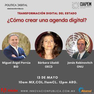 Conversa con Julio Vega, director de la Asociación de Internet México, Netzer Díaz, Ciapem, y Andrés Hofmann director de Política Digital