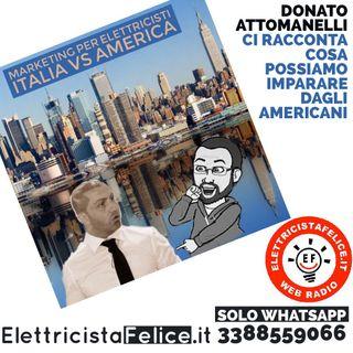 #38 Donato Attomanelli parla di marketing per elettricisti dall'America