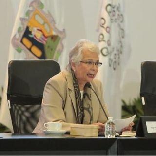 Olga Sánchez Cordero, urgió a gobernadores a hacer un frente común por México