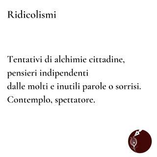 Ridicolismi [Anima di parole n. 36]