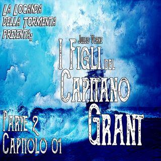 Audiolibro I figli del Capitano Grant - Jules Verne - Parte 02 Capitolo 01