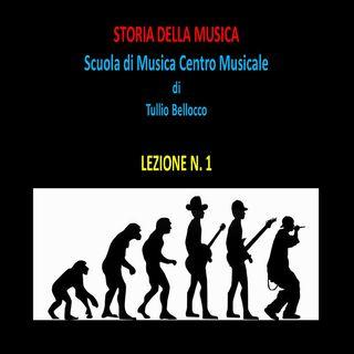 1 Storia della musica Centro Musicale audio