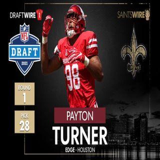 Payton Turner Saints First Round Draft Pick Fans Negative Approval