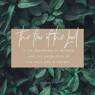Episode 151b: Proverbs 9:10 (May 31, 2018(