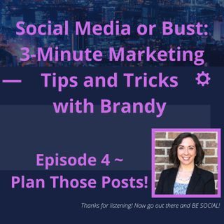 Planning: The Key to Social Media Success