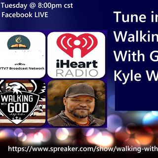 Walking With God Kyle Walker #34 PODCAST Spring Forward, Planting  & Growing After Divorce
