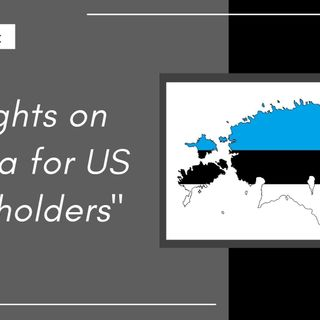 [ HTJ Podcast ] Thoughts on Estonia for US Shareholders
