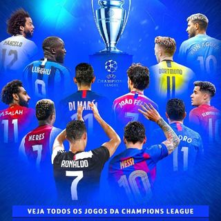 Hoje tem Champions- Futebol Pocket News