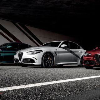 Giulia Quadrifoglio o BMW M3:Noi abbiamo scelto.