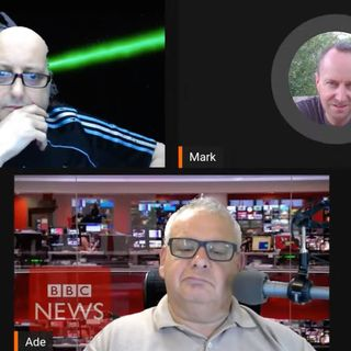 Mark Devlin guests on Raconteurs News, 21/4/20