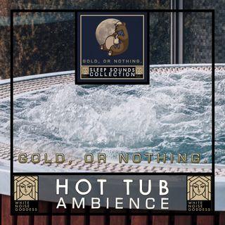 Hot Tub Ambience | White Noise | ASMR & Relaxation | Deep Sleep