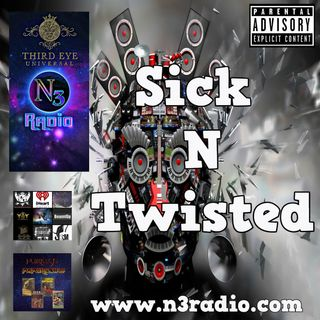 N3 Horrorcore Sick n Twisted Happy Hour with Crazie Mazie 2020-09-11
