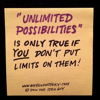 Unlimited Possibilities : 135