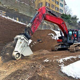 Ascolta la news: Simex lancia l'escavatrice a ruota per demolizione RWE 100