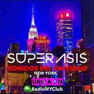 372.-Superasis Presents: Sonidos del Universo 372 @Techno Radiolive from NYC.17.09.19