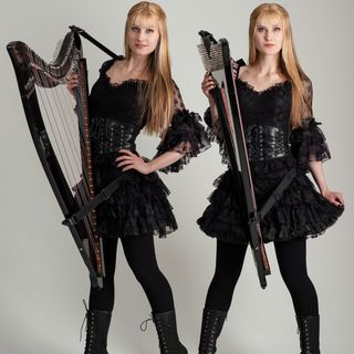 Harp Twins On The Chris Top Program