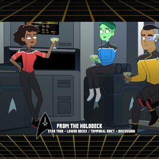 Star Trek: Lower Decks Edition – 1.3 'Temporal Edict'