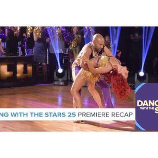 Dancing with the Stars Season 25   Premiere Recap