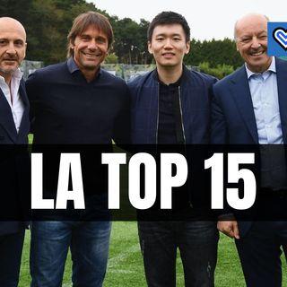 Boom Inter, valore del club in crescita: la top 15 di Forbes