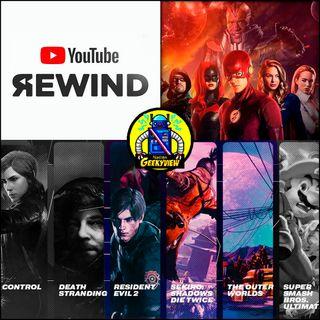 Youtube rewind y los goty 2019 - 8 de diciembre