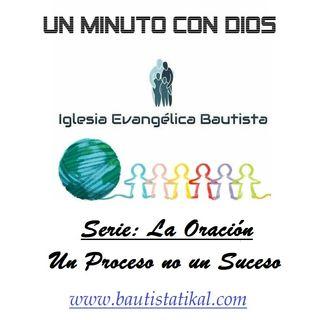 La Oración - Un proceso no un Suceso