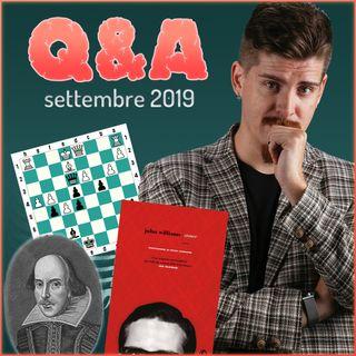 Robot scacchisti, romanzi americani e Lars von Trier - Q&A di settembre