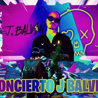 Concierto de J Balvin en Fortnite