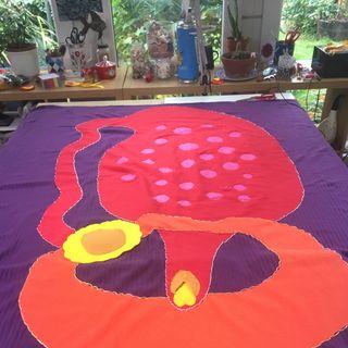arte textil, feminidad y sensualidad