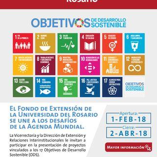 Convocatoria de proyectos por los ODS