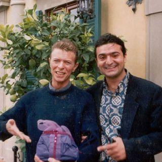 """Agostino Penna musicista al matrimonio di David Bowie """" ecco cosa ricordo. Il mio regalo ando' sulla torta..."""""""