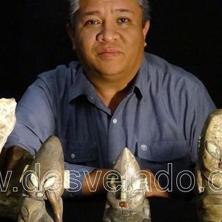 Victor Camacho: Artifacts from Ancient Aliens in Mexico