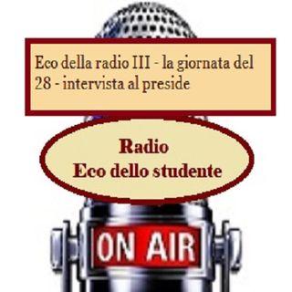 Eco della radio - giornata del 28