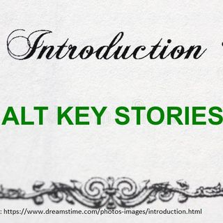 Alt Key Stories - Introduction