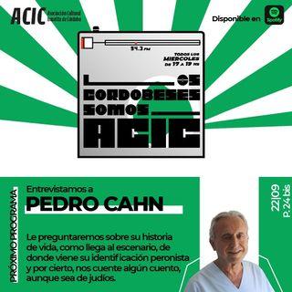 LCSA - Programa 24 Bis - Entrevistado: Pedro Cahn