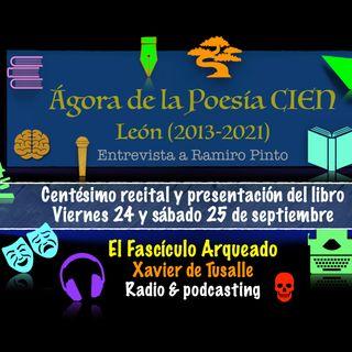 Ágora de la Poesía 100 - Recital en Léon y presentación del libro