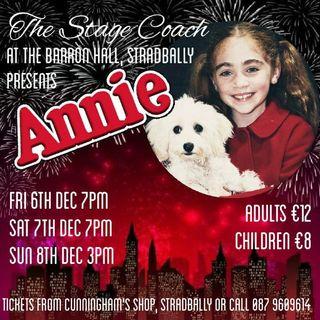 Stagecoach are bringing Annie to Stradbally