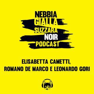 Elisabetta Cametti, Romano De Marco e Leonardo Gori