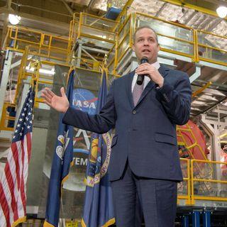 NASA Administrator James Bridenstine Returns