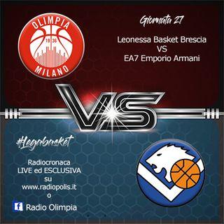 Leonessa Basket Brescia VS EA7 Emporio Armani