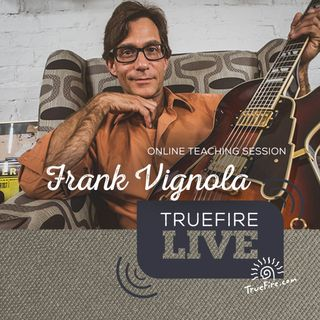 Frank Vignola - Jazz Soloing Fakebook Guitar Lessons, Performance, & Interview