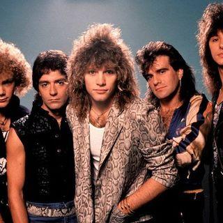 """Parliamo dei Bon Jovi e della loro hit """"Livin' on a prayer"""", estratta dall'album """"Slippery when wet"""" del 1986."""