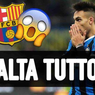 """Lautaro Martinez-Barcellona, salta tutto? Aguilar: """"Figura ridicola"""""""
