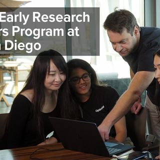 ERSP - Early Research Scholars Program at UC San Diego
