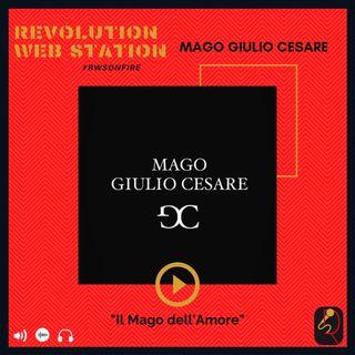 """INTERVISTA MAGO GIULIO CESARE - """"IL MAGO DELL'AMORE"""""""
