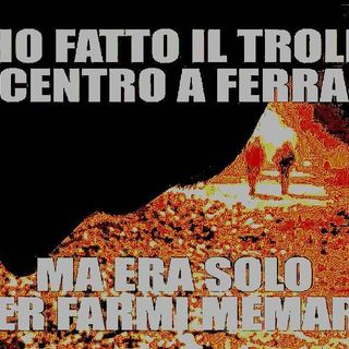Ho fatto il troll in centro a Ferrara ma era solo per farmi memare - The GAD Neuro show - s02e11
