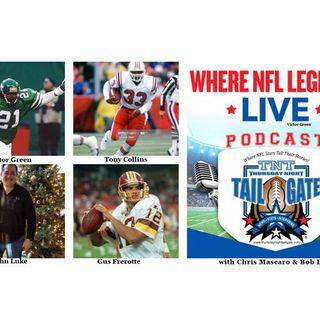 NFL Legends Victor Green, & Gus Frerotte Plus John Luke Join Us...